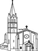 Clip Art Church Clipart Black And White church black and white clipart kid clip art white