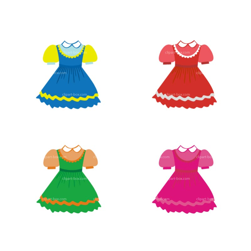 Doll Clothes Clipart Kid