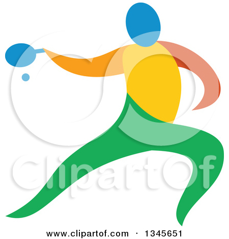 Clipart Of Colorful Tr...