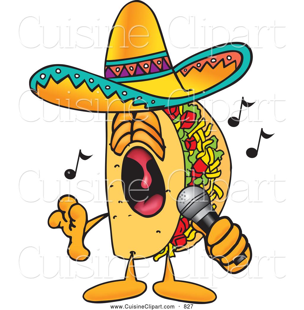 Cartoon Taco Clipart - Clipart Kid