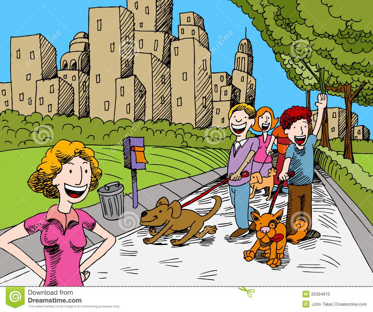 Clip Art Dog Park Clipart - Clipart Kid