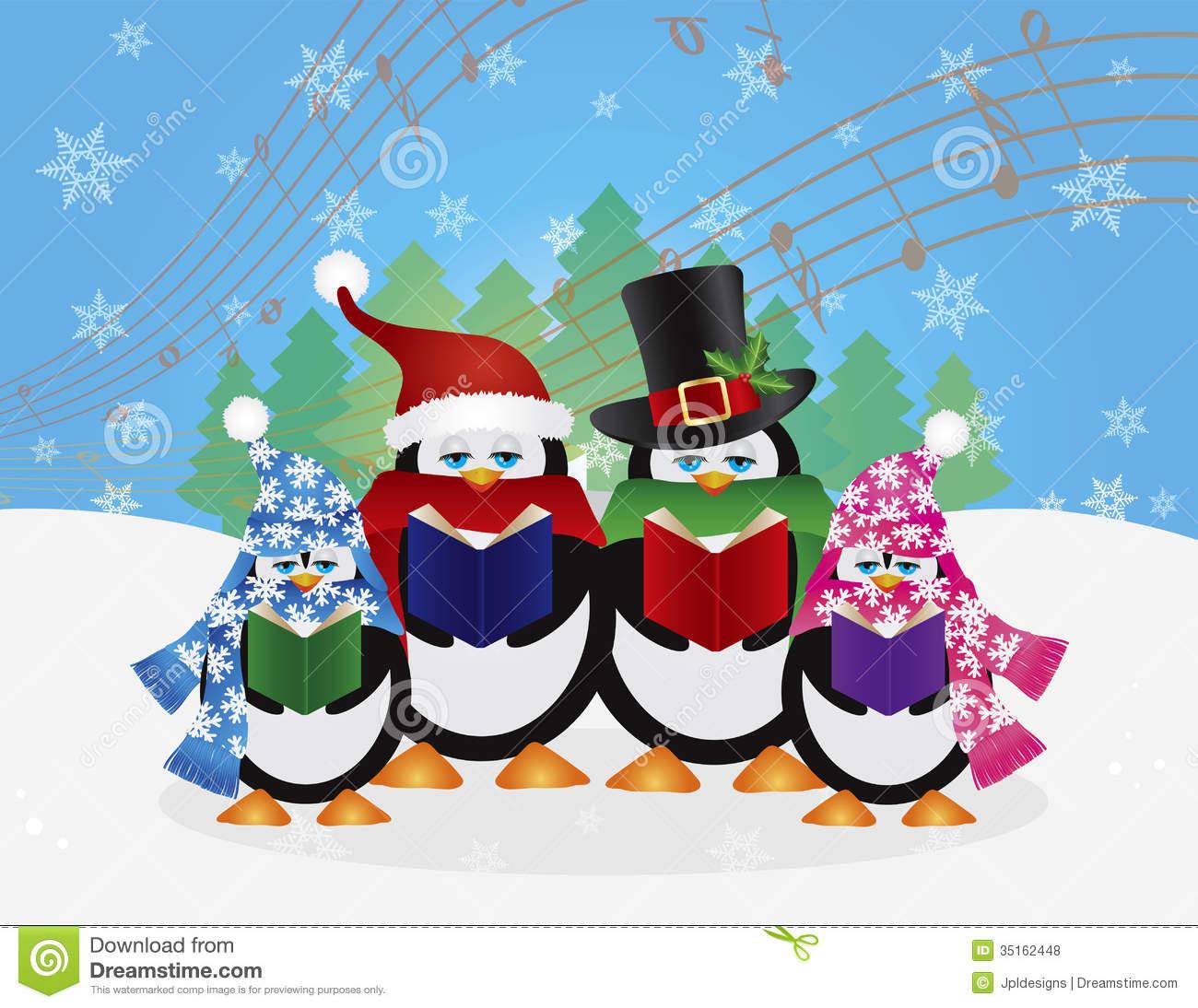 free clipart christmas carolers - photo #25
