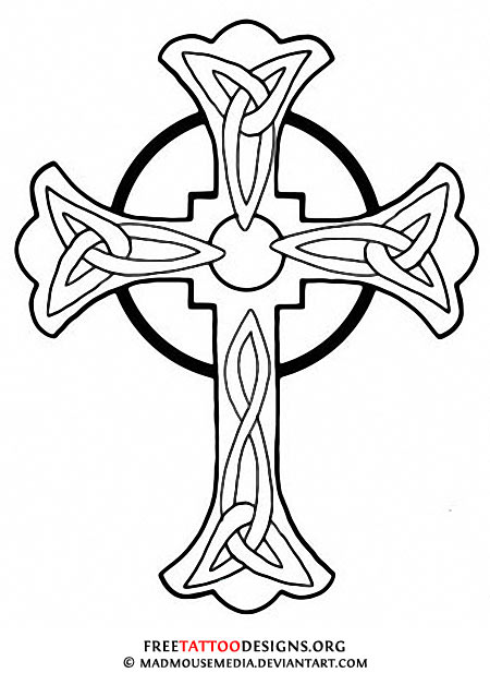 Line Art Cross : Rustic cross outline clipart suggest