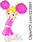 Showing  20  Pics For Cheer Jump Clip Art