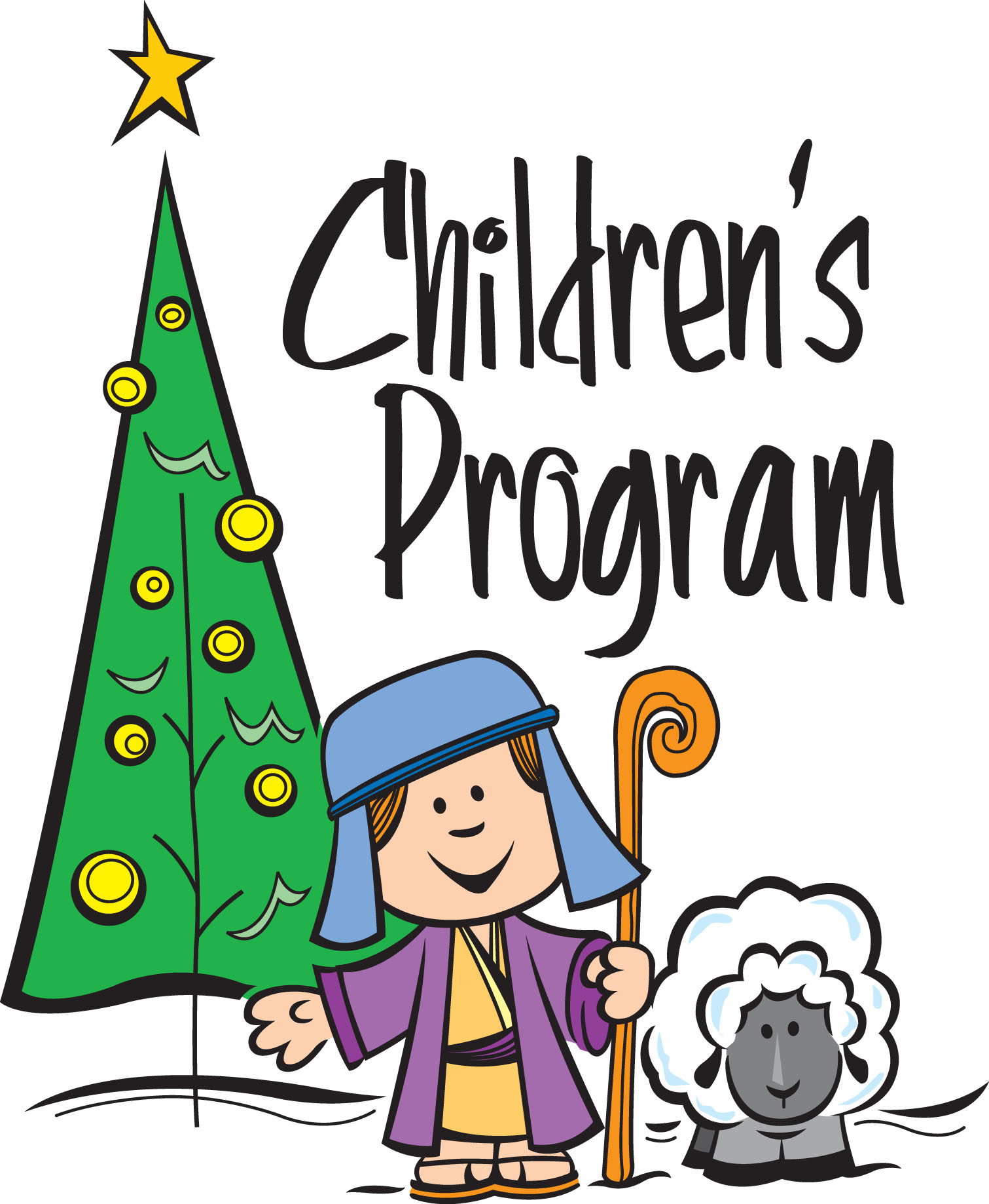 Line Art Program : Church christmas program clipart suggest