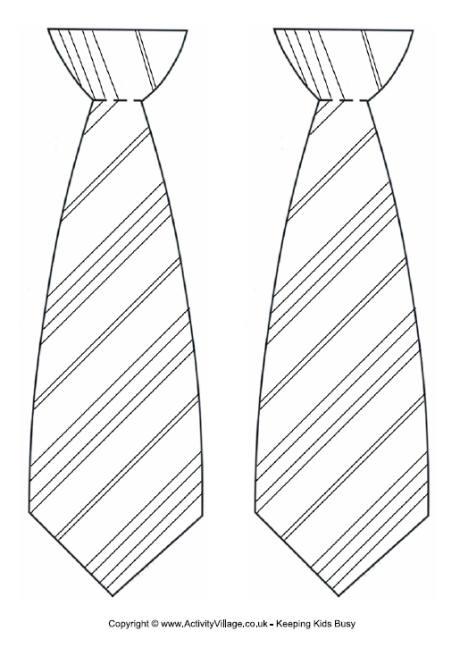 necktie outline clipart clipart suggest