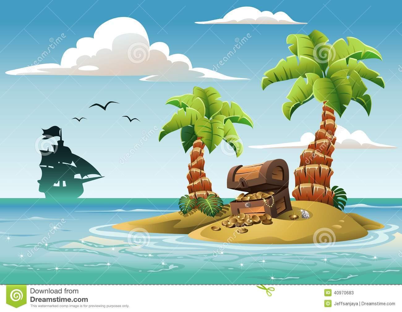 Treasure Island Clipart - Clipart Suggest