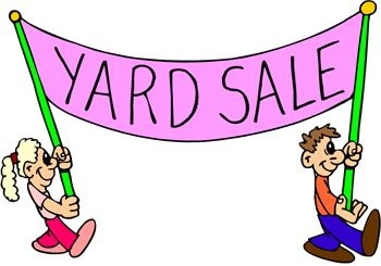 Yard Sale Fundraiser Sign   Clip Art   Pinterest