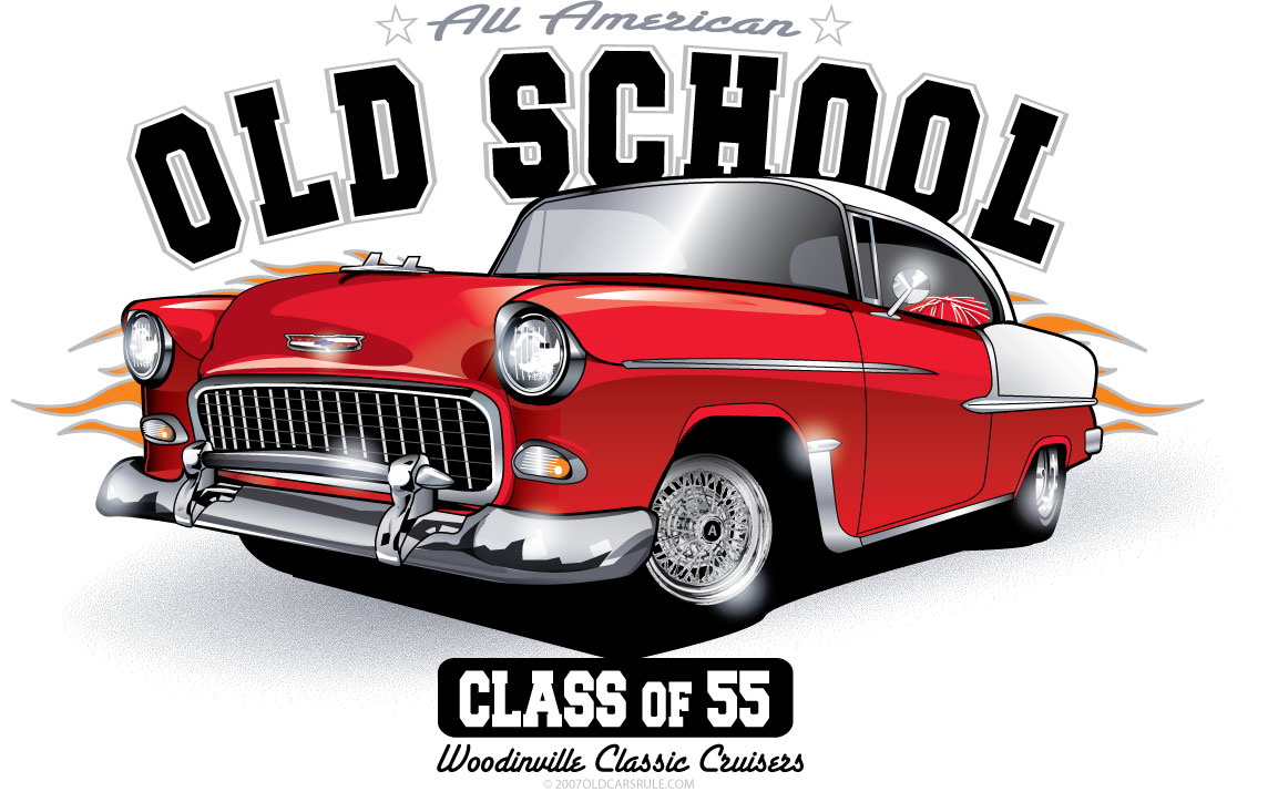 Chevy Gm 50 S   60 S Personalized Tee   Old Car S Rule   Custom Car