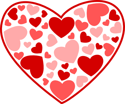 Clipart Heart Of Hearts 512x       Cliparts Co