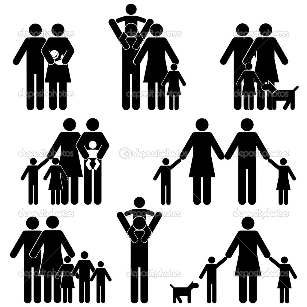 Clip Art Family Icons Clipart - Clipart Suggest