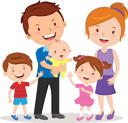 Happy Family Clipart - Clipart Suggest