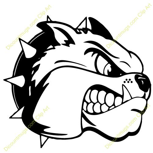 Lady Bulldog Mascot Clipart Lady Bulldog Mascot Clipartclipart 12317