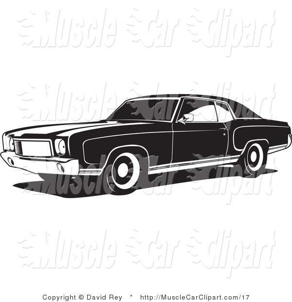 Monte Carlo Muscle Car Muscle Car Clip Art David Rey