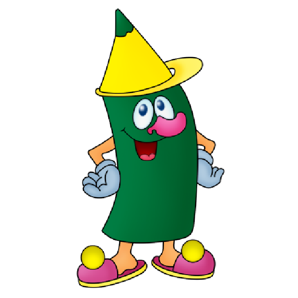 Animated Crayons Funny Cartoon Crayons Images