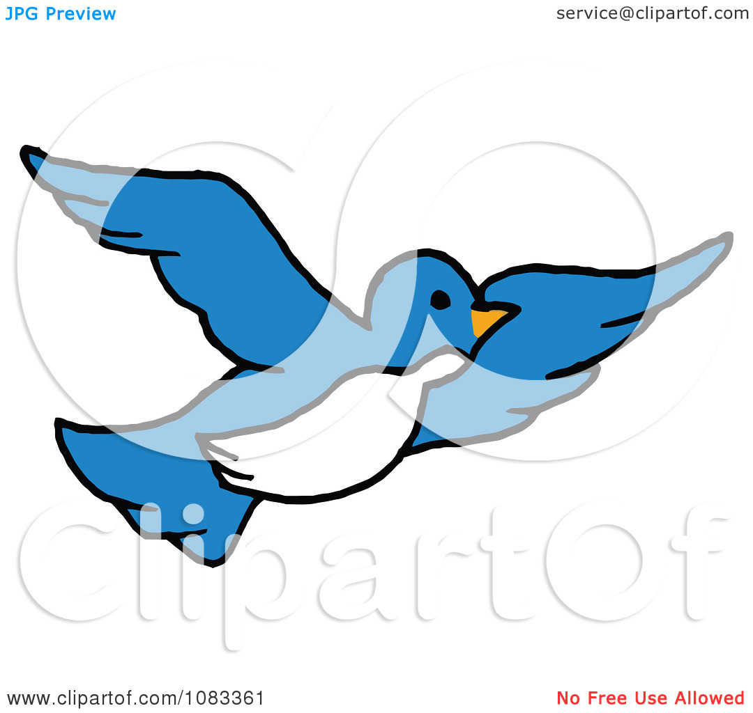 Clipart Bird Black And White  Clipart Panda  Free