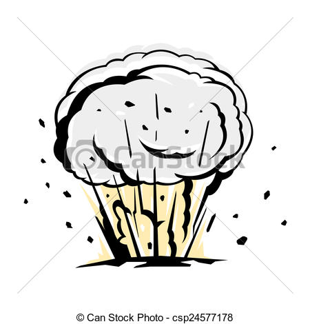 Bomb Explosion Silhouette Black    Csp24577178   Search Eps Clipart