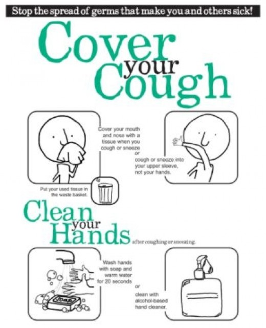Cover Your Cough And Sneeze Stop Germs Pamphlet Pictures