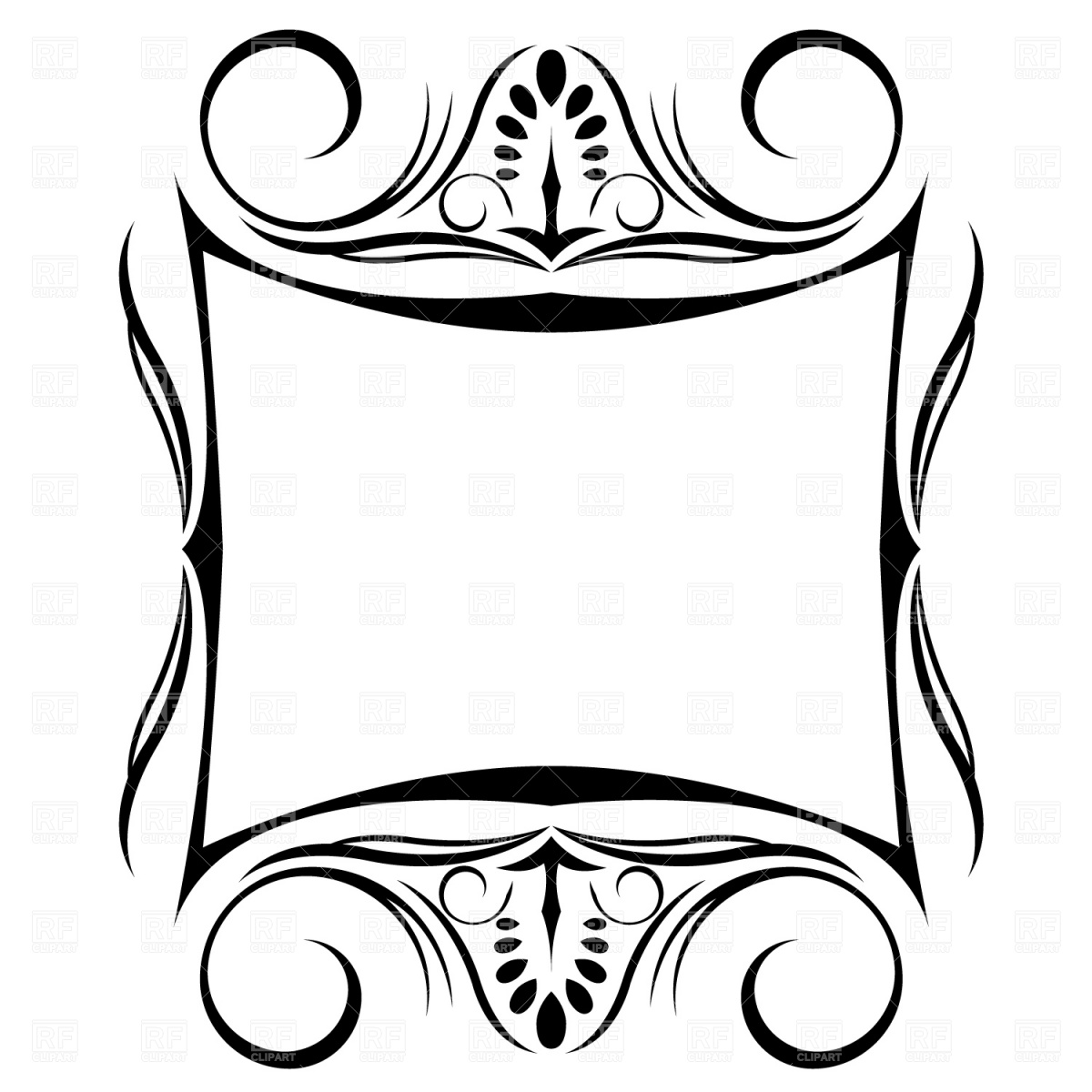Decorative Shapes Clipart - Clipart Suggest