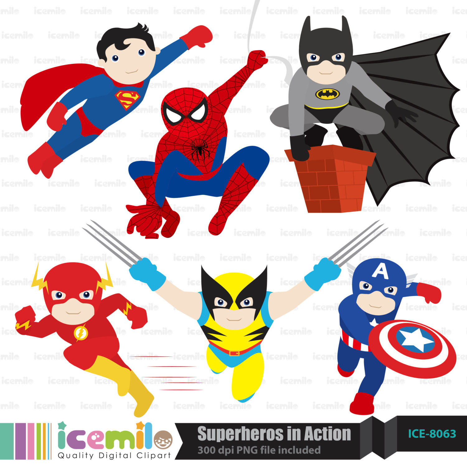 Displaying 20  Images For   Baby Superheroes Clipart