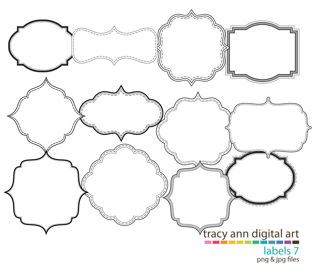 Decorative Shape Clipart - Clipart Suggest