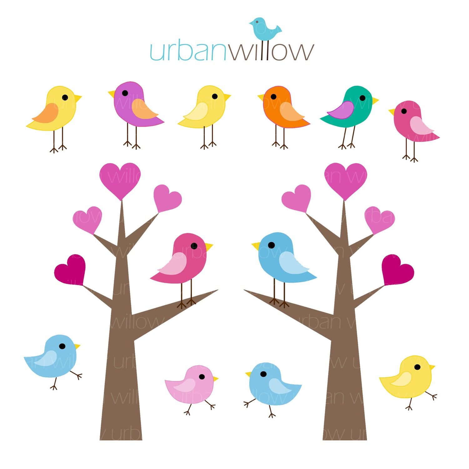 Love Birds For Wedding Clipart - Clipart Kid