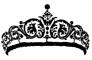 Queen Crown   Free Vintage Clip Art