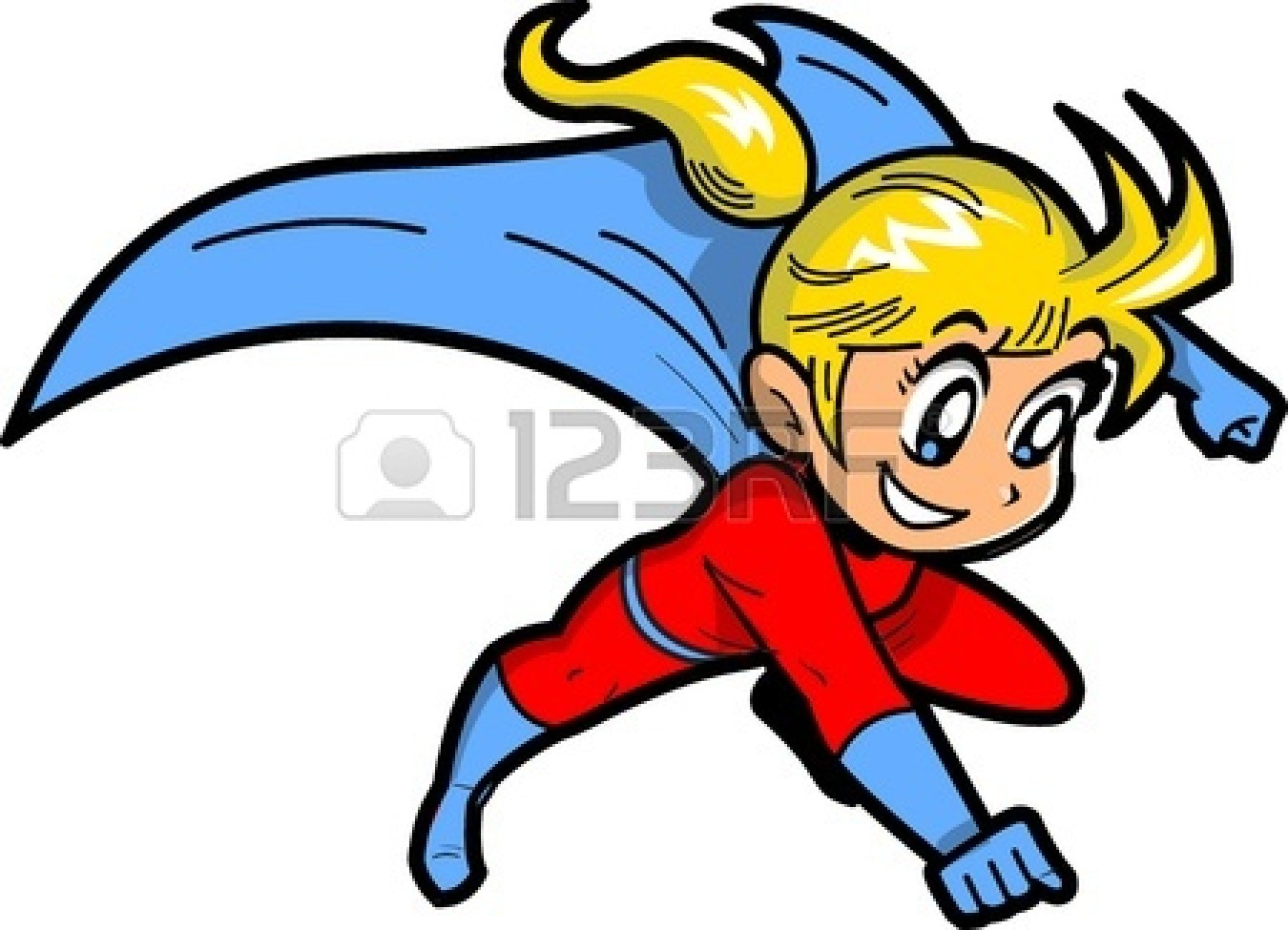 clipart superman flying - photo #41