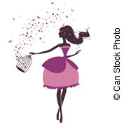 And Stock Art  1593 Diva Illustration And Vector Eps Clipart