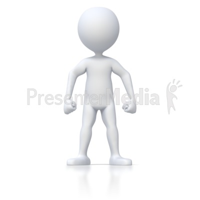 Angry Stick Figure   3d Figures   Great Clipart For Presentations