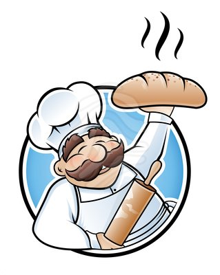 Clip Art  Baker Illustration