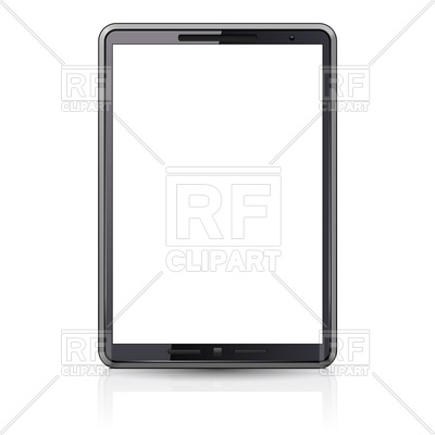 Computer Tablet With Blank Screen 7470 Technology Download Royalty