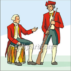 English Soldiers With A Musket Clip Art Royalty Free Clipart Picture