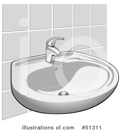Faucet Clipart  51311 By Dero   Royalty Free  Rf  Stock Illustrations