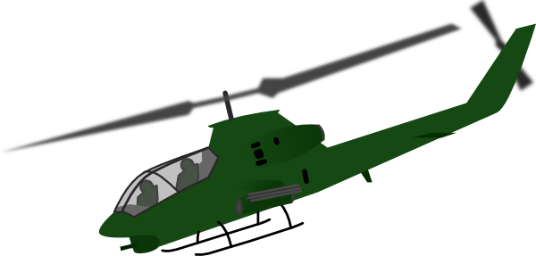 Helicopter Clip Art At Clker Com   Vector Clip Art Online Royalty
