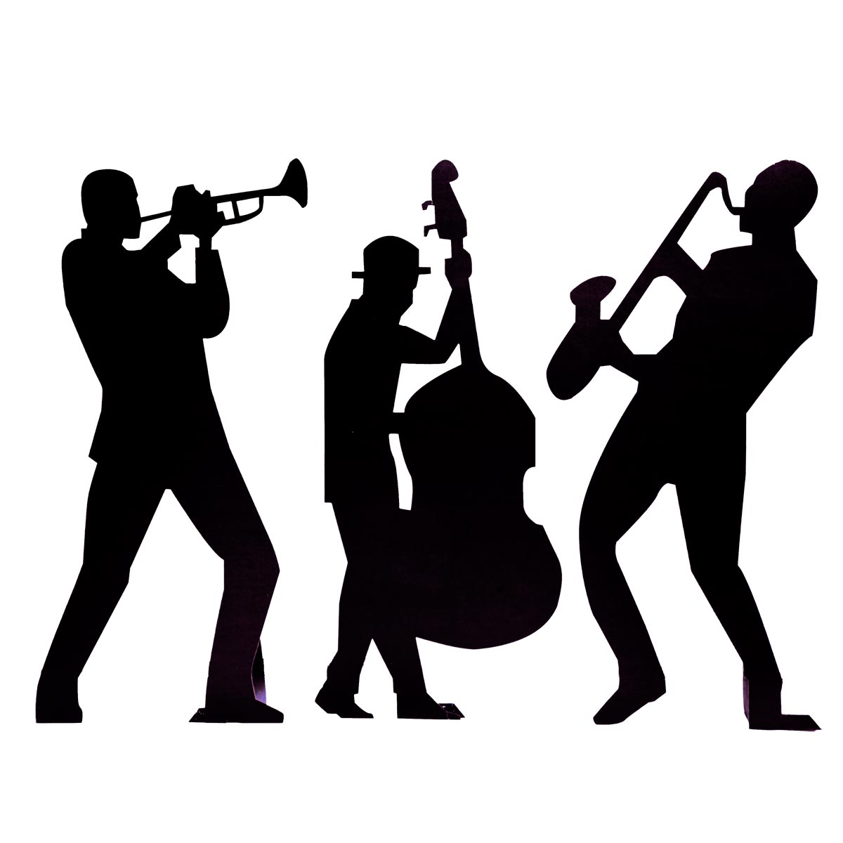 Clip Art Of Band Member Clipart - Clipart Kid Rock Band Silhouette