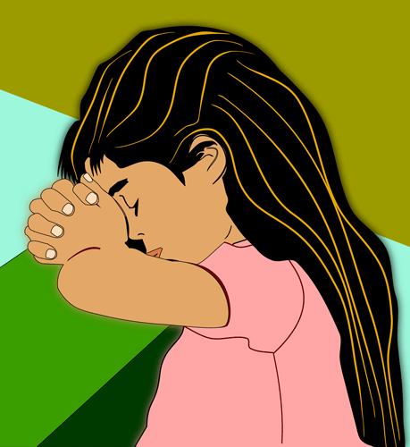 Jesus Praying Clipart - Clipart Kid