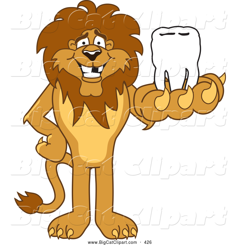 Lion Paw Mascot Clipart - Clipart Kid