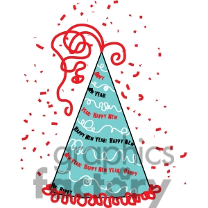 Royalty Free Happy New Year Hat Clipart Clipart Image Picture Art