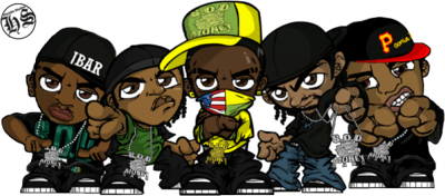 Sod Money Gang Toon Graphics Pictures   Images For Myspace Layouts