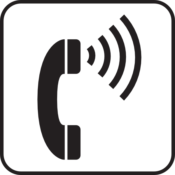 Volume Control Telephone White Clip Art At Clker Com   Vector Clip Art