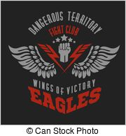 Wings   Military Label Badges And Design Elements Vector Clip Art