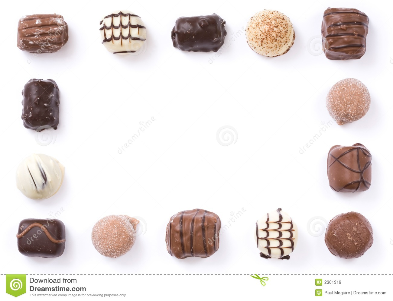 Similiar Chocolate Candy Border Keywords