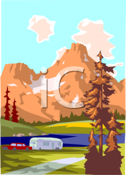 Camping And Animated Gifs A Camper Clipart Camping Clipart Over ...