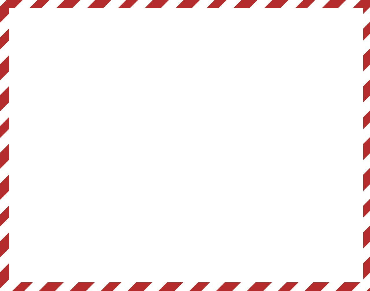 Candy Canes Christmas Border Page Borders   Auto Design Tech