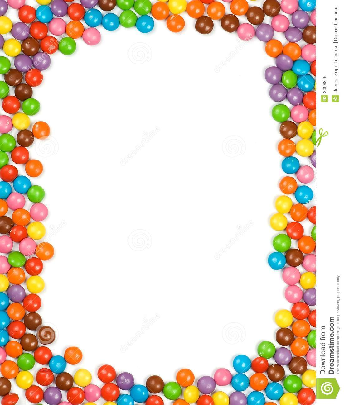 Candy Borders Chocolate borders clipart - clipart kid