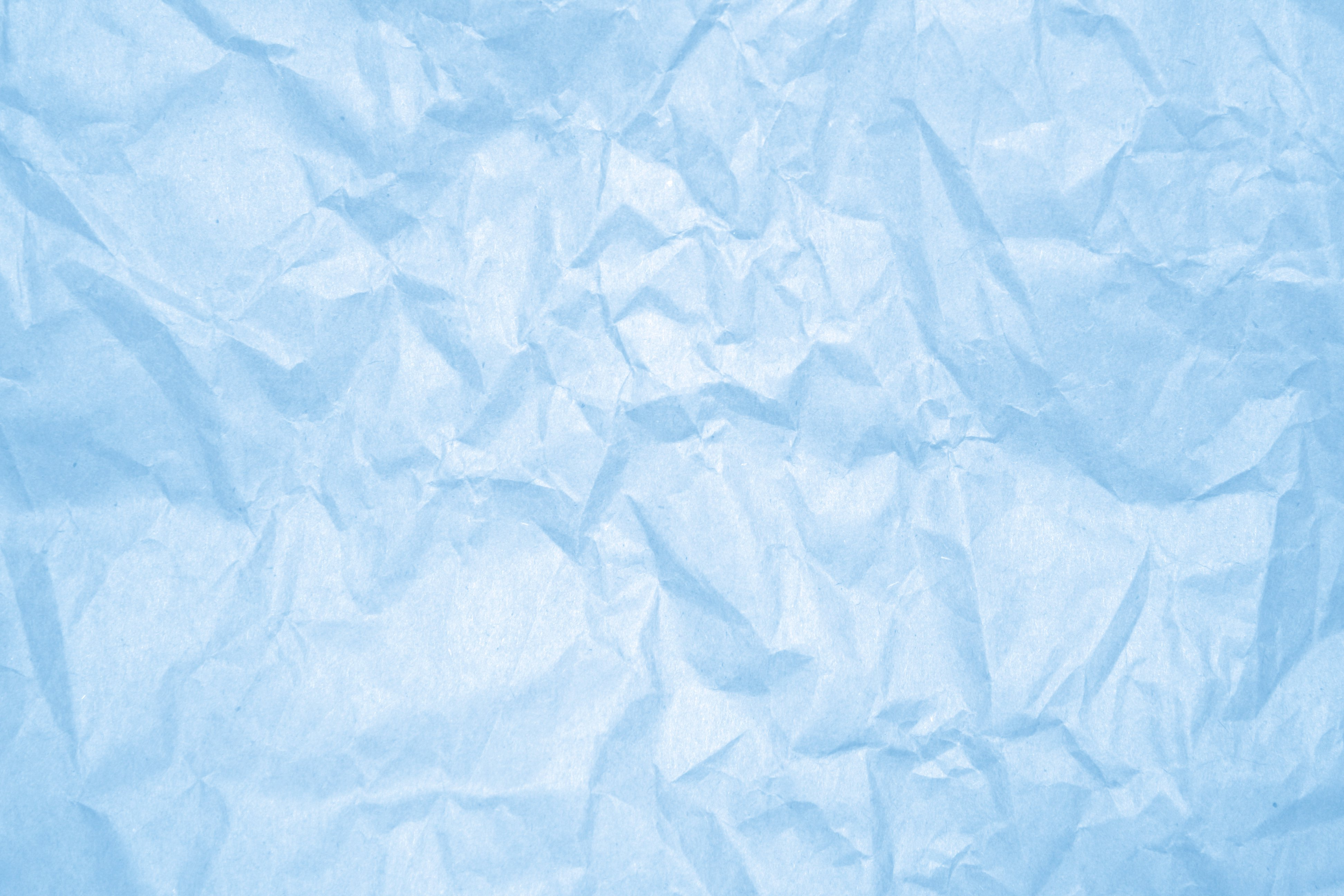 Crumpled Baby Blue Paper Texture Picture   Free Photograph   Photos