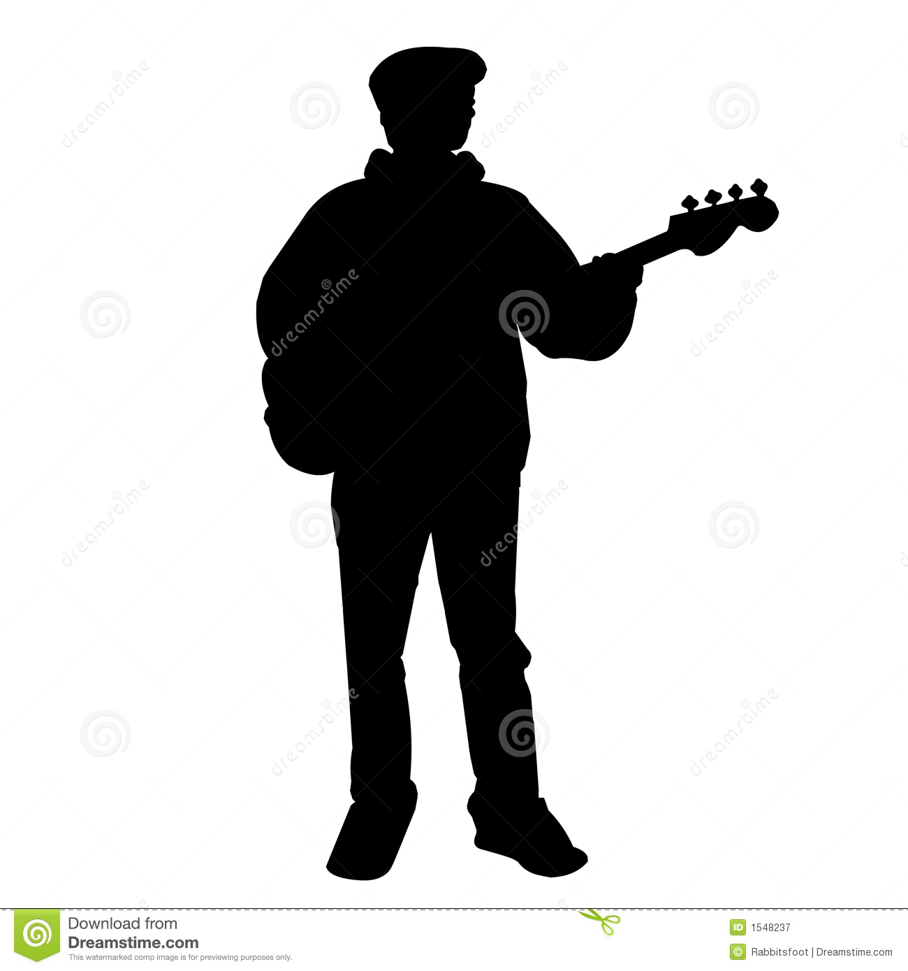 Electric Bass Player Clipart Images & Pictures - Becuo