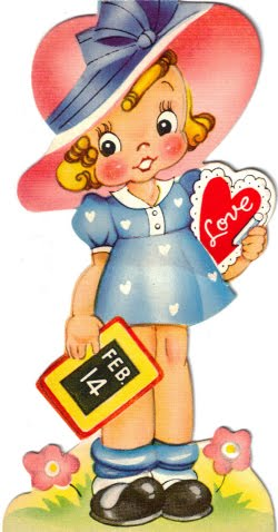 Free Vintage Valentines Clipart And Printable From Tipnut Com   Use