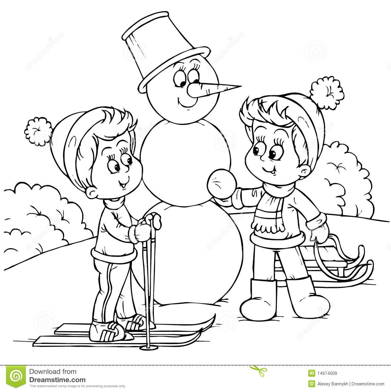 winter vacation clipart - photo #39